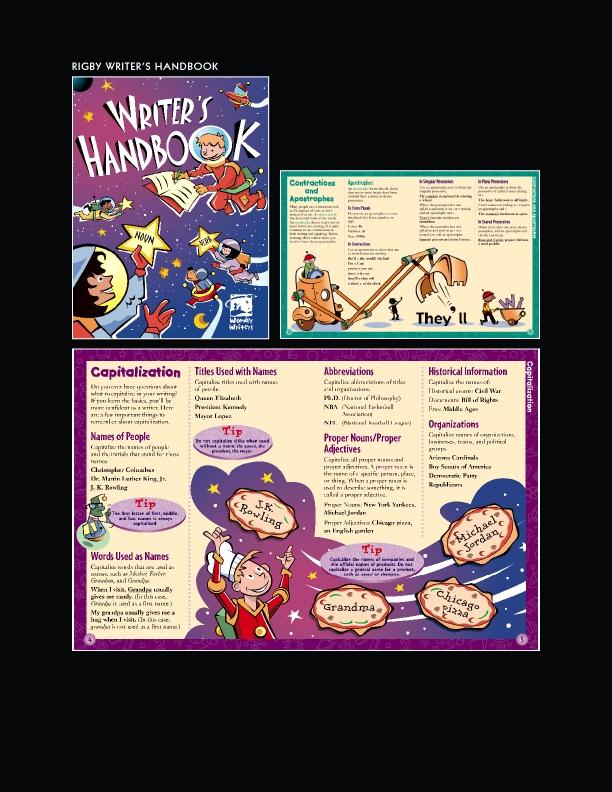 Rigby Writer's Handbook